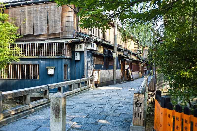 京都祇園白川の巽橋